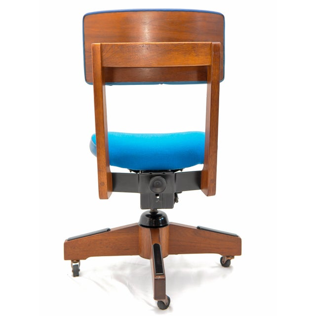 Mid-Century Gunlocke Office Chair For Sale - Image 10 of 11