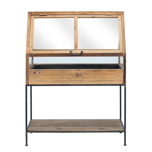 English Kenneth Ludwig Chicago Wooden Greenhouse For Sale - Image 3 of 4