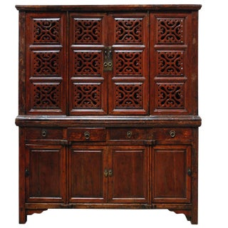 18th c. Chinese Kitchen Cabinet For Sale