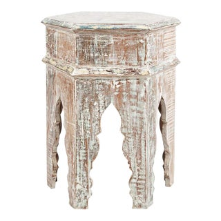Distressed Handmade Side Table