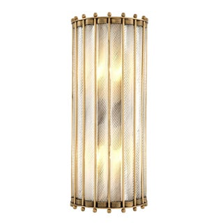 Tiziano Brass Wall Lamp For Sale