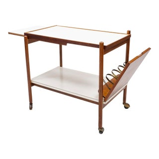 Mid 20th Century Bar Cart by Greta Grossman for Glenn of California For Sale
