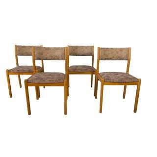Moller Teak Mid Century Danish Modern Chairs - Set of 4