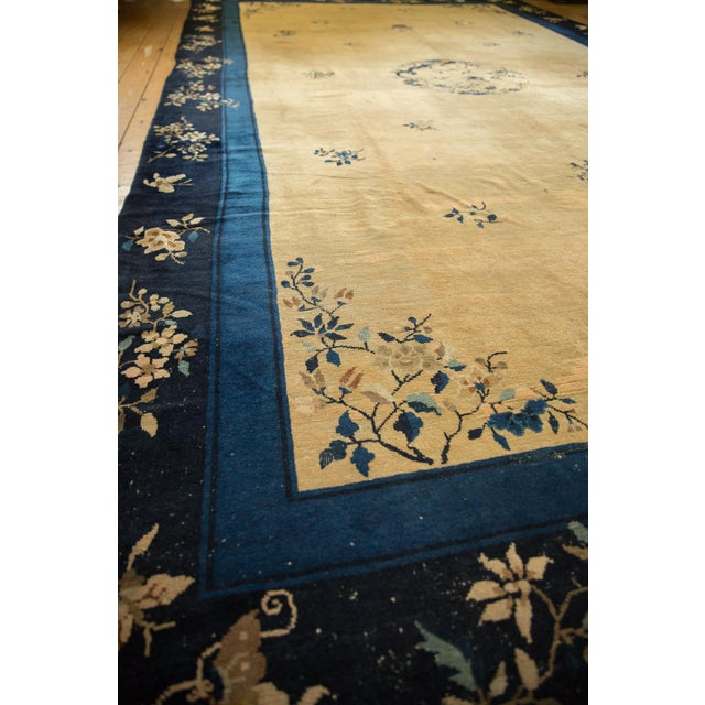 "Vintage Peking Carpet - 9'11"" X 17'4"" For Sale - Image 9 of 13"