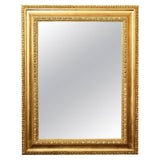 Image of 1930s Italian Gilded Mirror For Sale