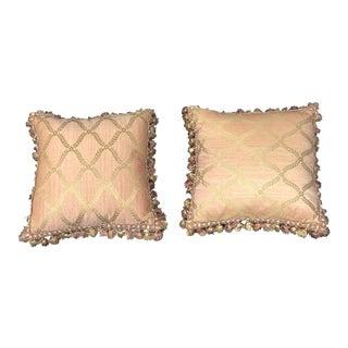 Custom Scalamandre Toss Pillows - A Pair