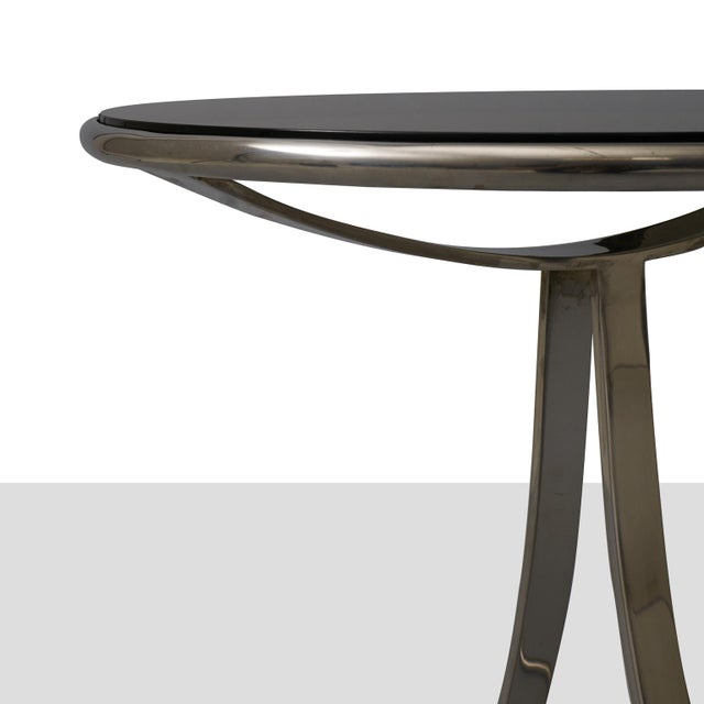 Mid-Century Modern Gardner Leaver Occasional tables for Steelcase - a pair For Sale - Image 3 of 7