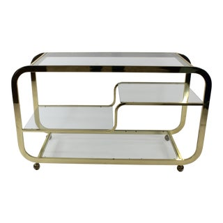 Milo Baughman Bar Cart