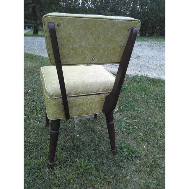 Vintage Lift Seat Sewing Chair - Image 4 of 9