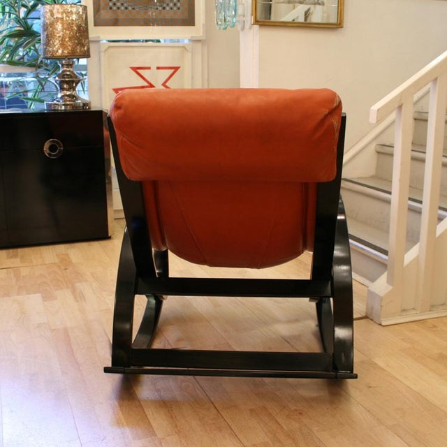 1960s Sgarsul Rocking Chair For Sale - Image 5 of 5