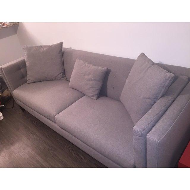 Braylei Gray Track Arm Sofa - Image 3 of 7