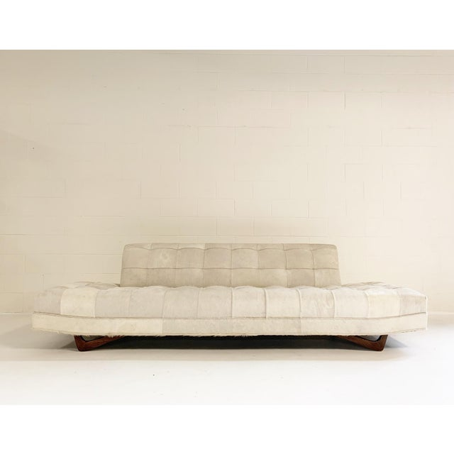 Adrian Pearsall Sofa in Brazilian Cowhide For Sale - Image 13 of 13