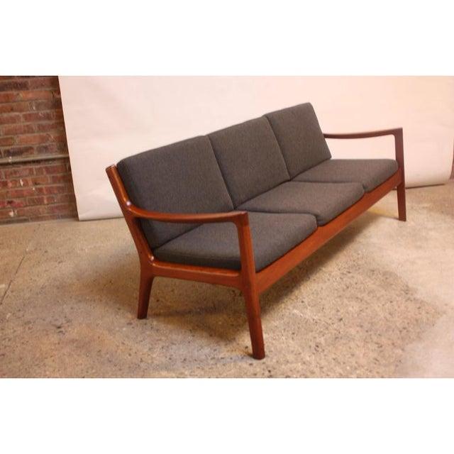 Danish Modern Ole Wanscher Teak Senator Sofa for France & Son For Sale - Image 3 of 11