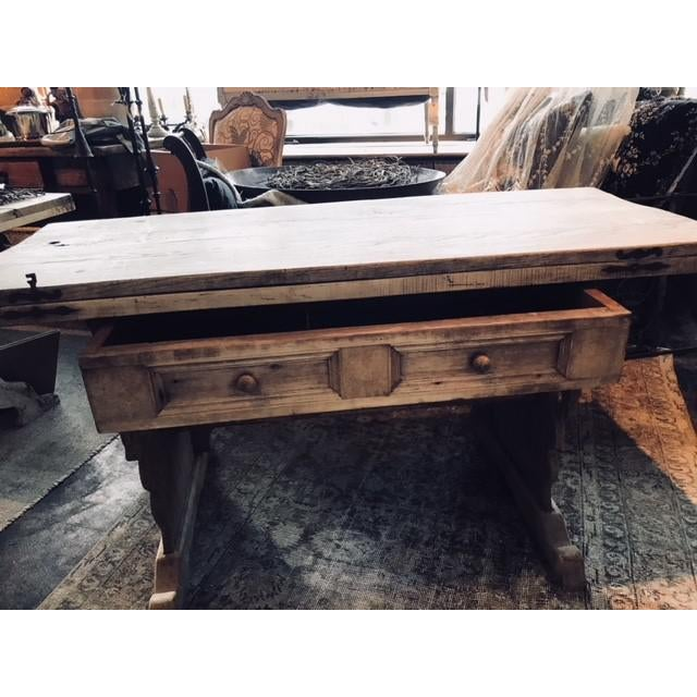 Antique Swiss Money Changing Table - Image 7 of 13
