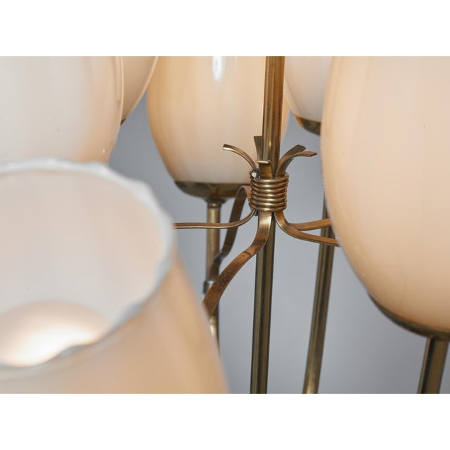 1950s Paavo Tynell Chandelier for Sokos Helsinki House, Taito, Finland, 1950s For Sale - Image 5 of 5