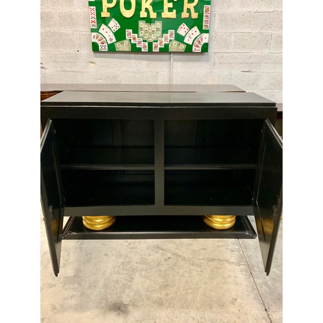 1940s 1940s Vintage French Art Deco Sideboard / Buffet / Bar For Sale - Image 5 of 13