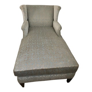 Lillian August Wingback Sofa Chaise Chair For Sale