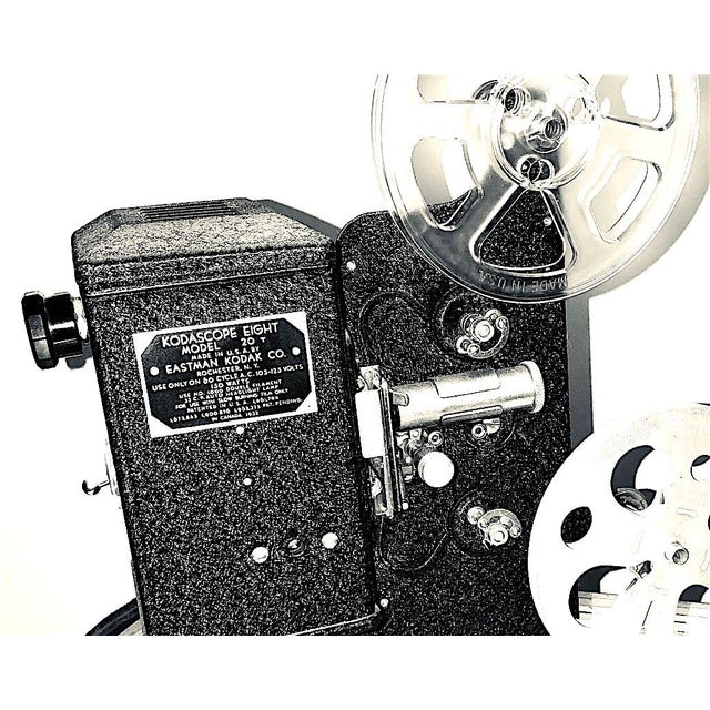 Offered for your approval is this circa 1934 Kodak KodaScope 8mm Motion Picture Projector. It is in the factory original...