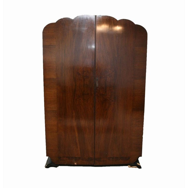 Vintage Wooden Armoire - Image 2 of 11