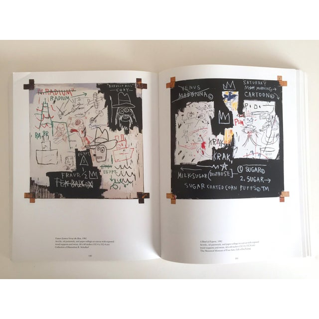 Blue Jean Michel Basquiat Rare 1st Edtn Vintage 1992 Iconic Whitney Retrospective Exhibition Collector's Hardcover Art Book For Sale - Image 8 of 13