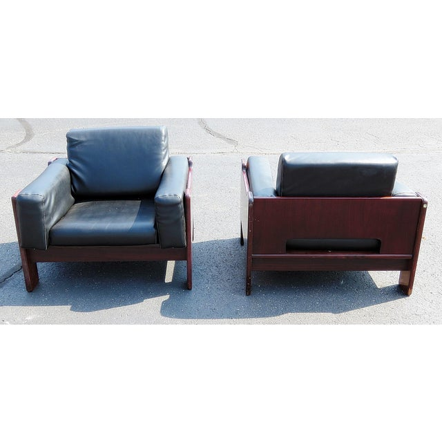 Pair of Mid Century Modern Club Chairs For Sale - Image 4 of 12