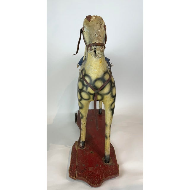 Late 19th Century Painted Toy Horse For Sale - Image 9 of 13