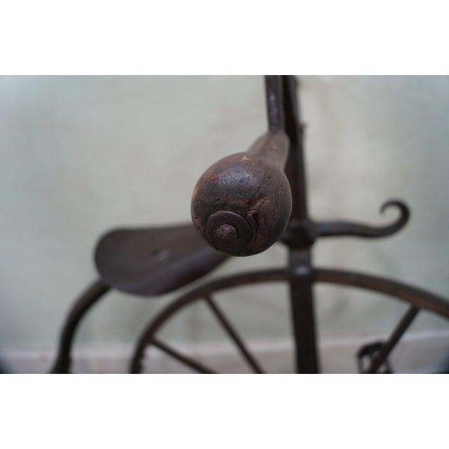 Antique Iron High Wheel Bicycle - Image 7 of 10