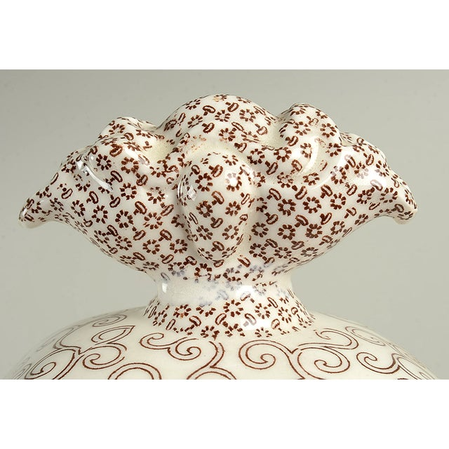Mason's Bow Bells Brown Tureen & Lid For Sale - Image 9 of 11