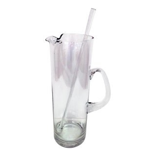 Glass Martini Pitcher For Sale