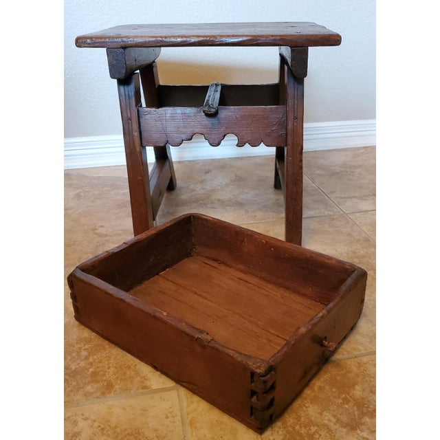 Early 18th Century Spanish Colonial Rustic Small Table For Sale - Image 12 of 12