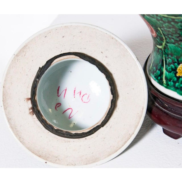 Famille Verte Temple Jar For Sale - Image 4 of 7