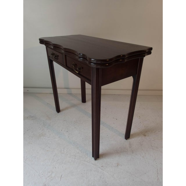 Vintage Mahogany Game Table - Image 4 of 7