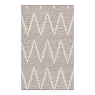 "Pasargad Simplicity Hand-Woven Cotton Rug - 5' 0"" X 8' 0"" For Sale"