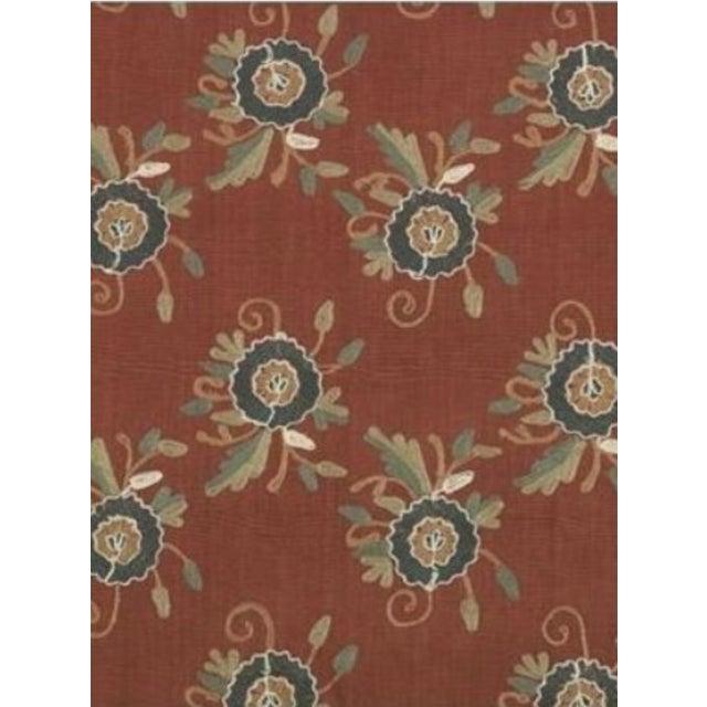Batala Salsa Stout Embroidery Fabric - 10 Yards - Image 2 of 2