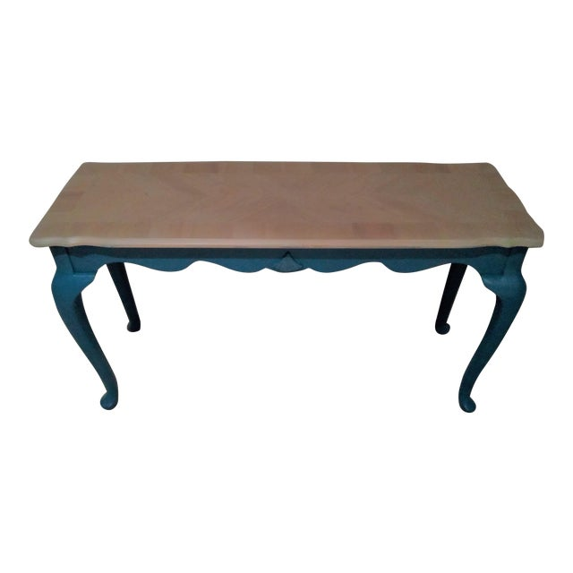 Victorian Style Console or Sofa Table For Sale