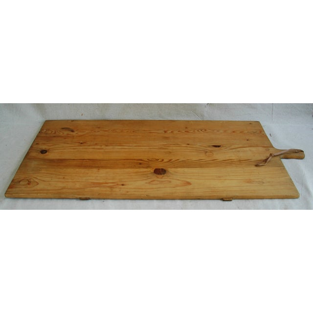 1920s Large French Harvest Bread Cheese Board - Image 7 of 8