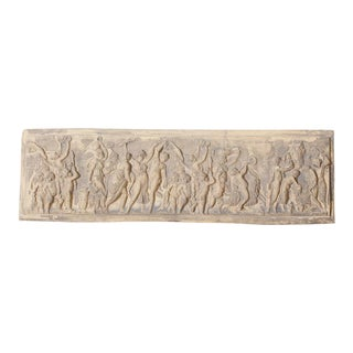 Antique Neoclassical Stone Relief For Sale