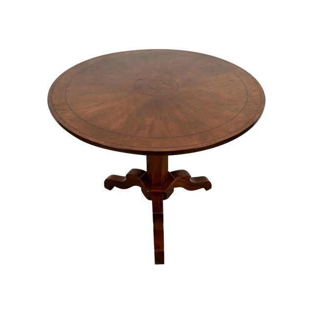 French Antique Louis Philippe Tilt-Top End Table - Image 1 of 9