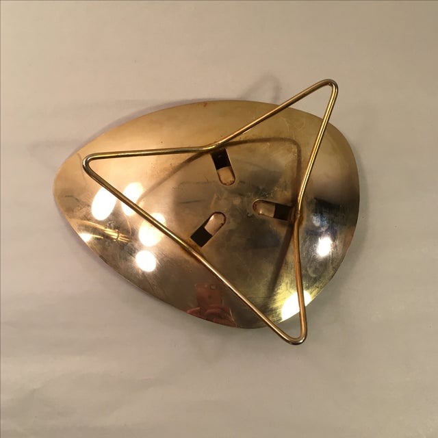 Atomic Brass-Plate Candleholder - Image 6 of 7
