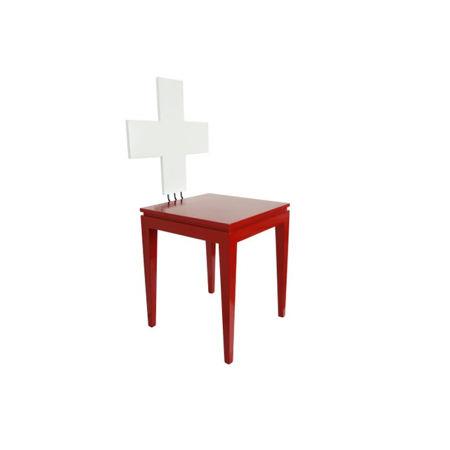 """Switzerland's 700th Independence Day """"Schwiiz"""" Chair For Sale - Image 4 of 11"""