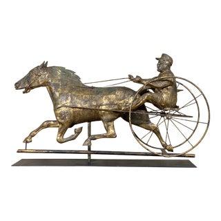 Antique Metal Horse Weathervane For Sale