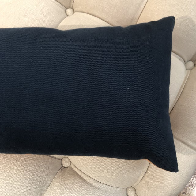 Fabric Leopard Lumbar Pillow by Dana Gibson For Sale - Image 7 of 13