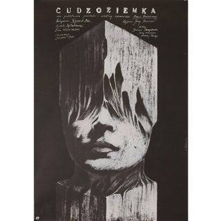 The Stranger 1986 Polish B1 Film Poster For Sale