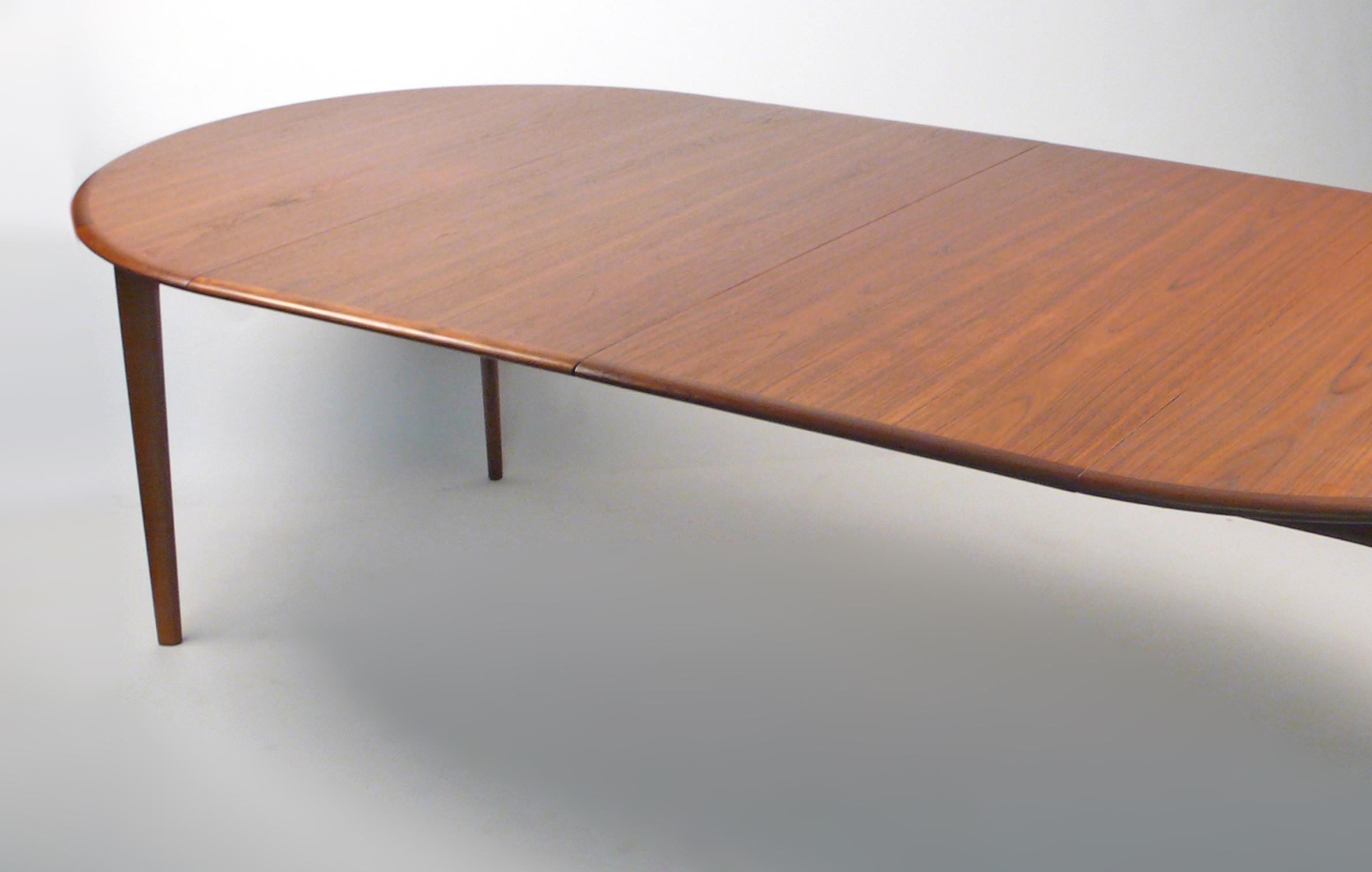 Svend Madsen Danish Modern Extension Dining Table   Image 7 Of 10