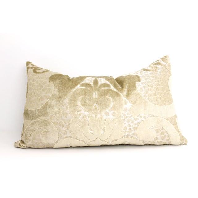 Cut Velvet Damask Pillow - Image 2 of 3