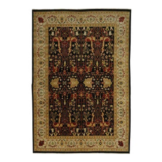 Contemporary Rug with Persian Bijar Design and Traditional Style