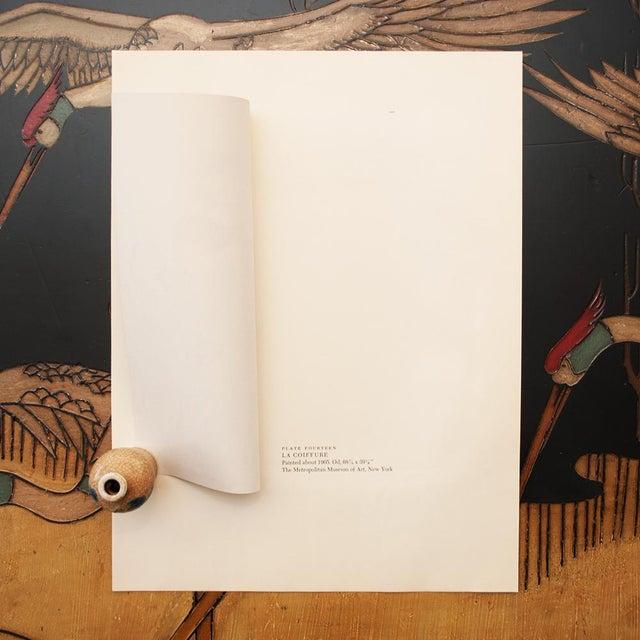 """1950s Picasso """"La Coiffure"""" Original Period Lithograph For Sale In Dallas - Image 6 of 10"""