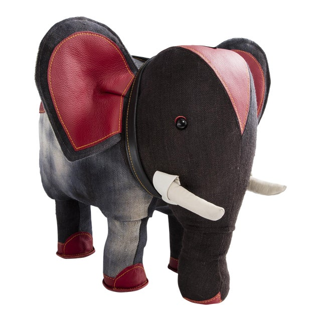 """""""Therapeutic Toy"""" Elephant by Renate Müller For Sale"""