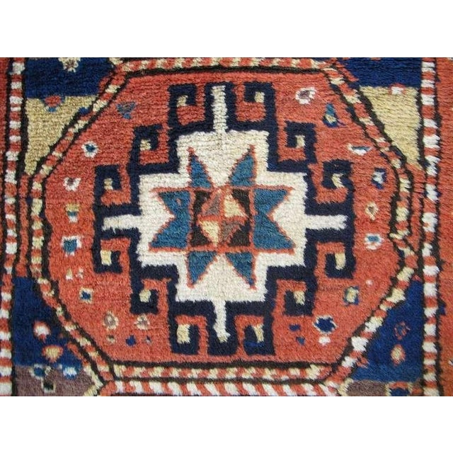 Caucasian Kazak Rug For Sale In San Francisco - Image 6 of 8