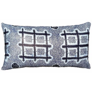 X&O's African Dutch Wax Pillow Cover